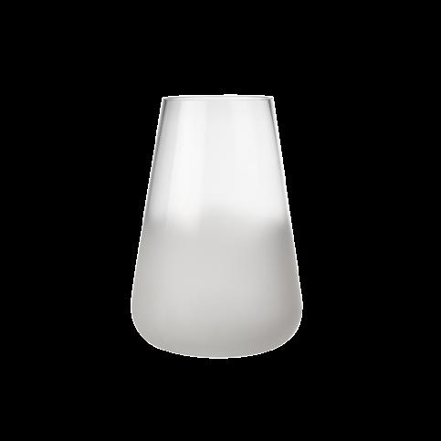 Vase verre effet glace