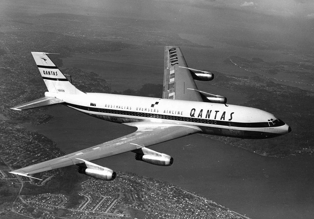 Quantas 707 Boeing aircraft, Boeing 707, Aviation news