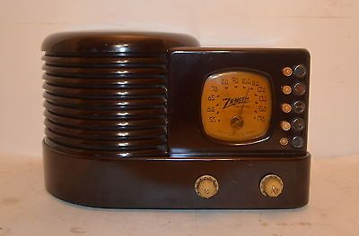 MINTY-CIRCA-1939-ZENITH-BEEHIVE-RADIO-RECEIVER-in-WORKING-CONDITION