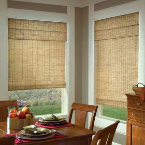 Dining Room Window Blinds Dining Room Window Blinds Woven Shades #shades  Window Treatments