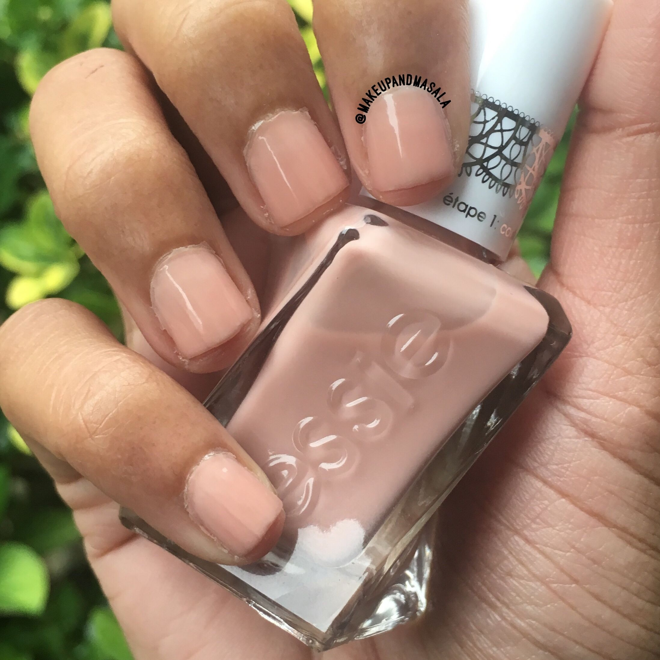 Of Corset From The Essie Sheer Silhouettes Collection Essie Nail Polish Essie Nail Corset Nails
