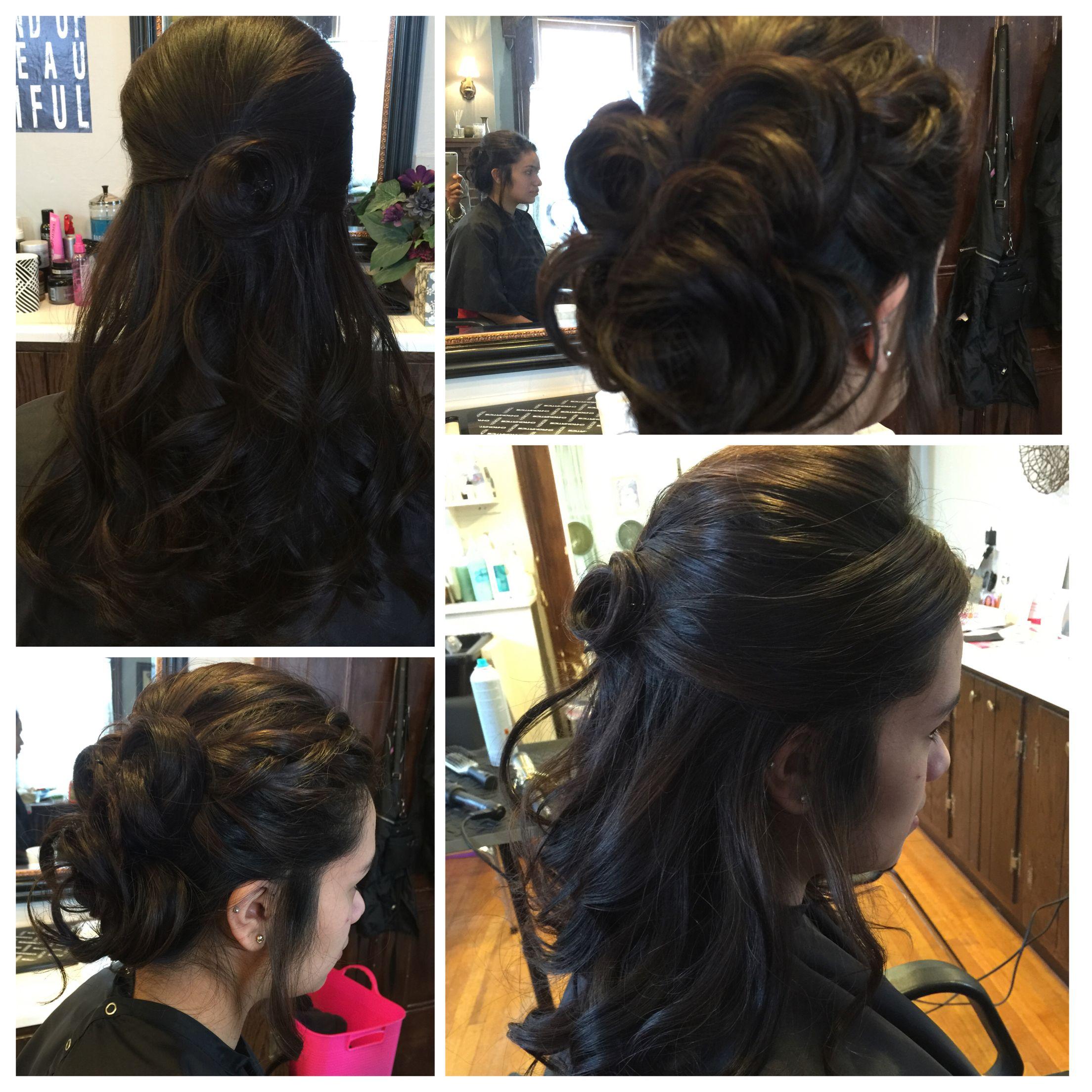 Bridal trial hairbytami pinterest