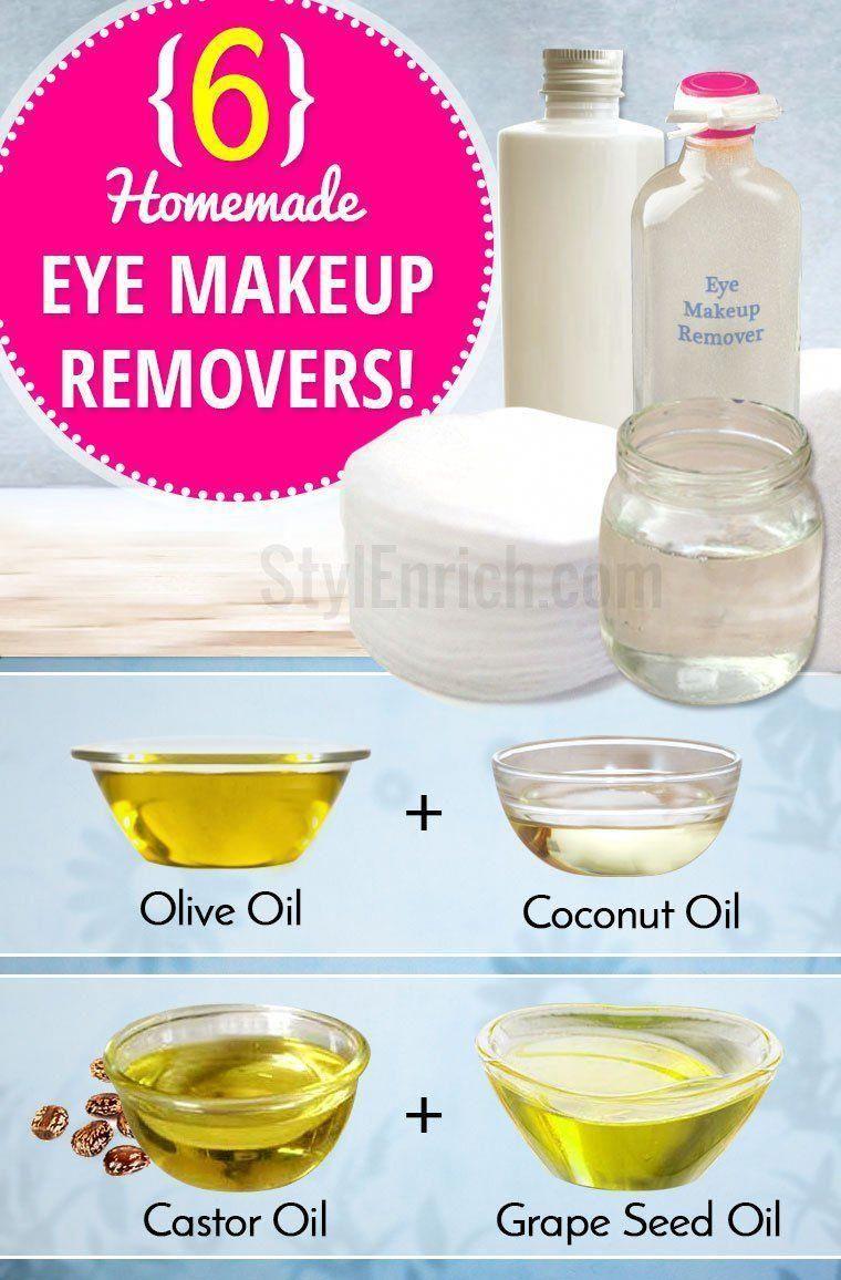 Homemade eye makeup remover diymascara EyeMakeupGreen in