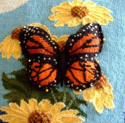 Free Intarsia Knitting Charts Google Search Butterflies And