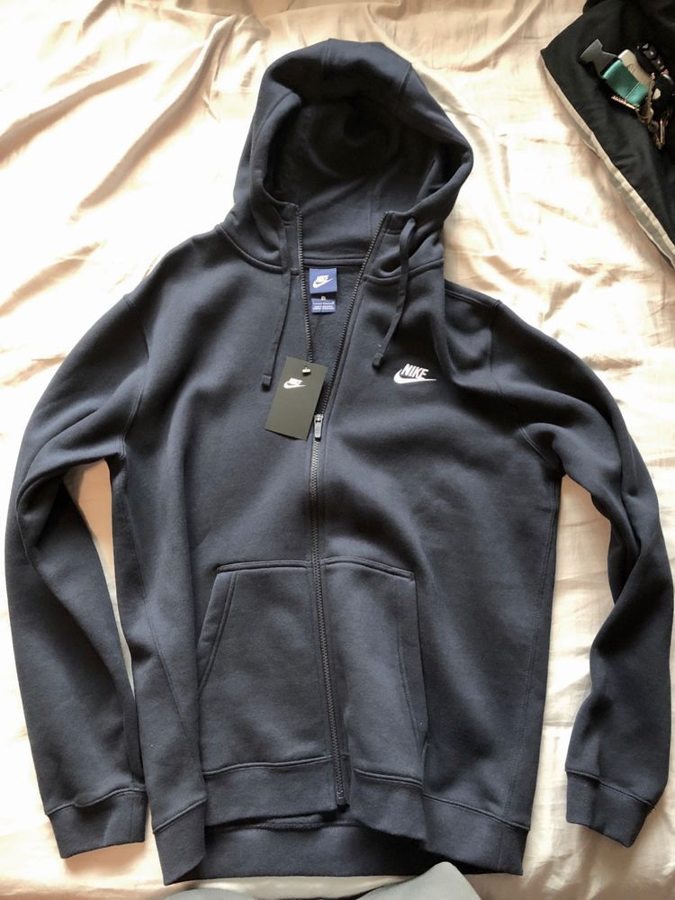 dacd5213f83f73 Nike Air Max Full Zip Hoodie Dark Blue Men s Large L New with Tags  fashion   clothing  shoes  accessories  mensclothing  activewear (ebay link)
