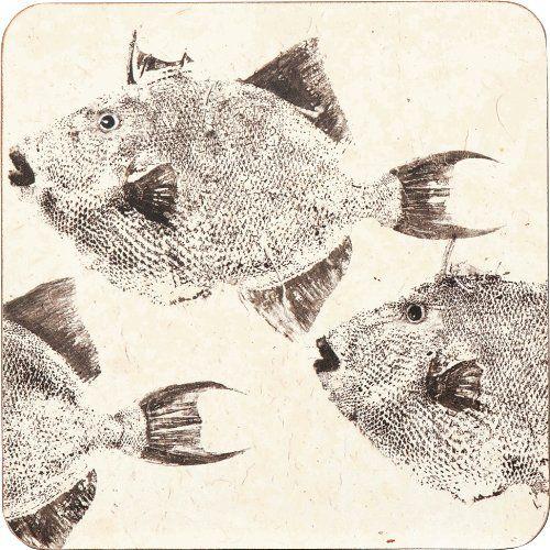 rockflowerpaper Trigger Fish Drink Coasters, Set of 4 rockflowerpaper http://www.amazon.com/dp/B00I2TYEBC/ref=cm_sw_r_pi_dp_RurRvb16G5HJC