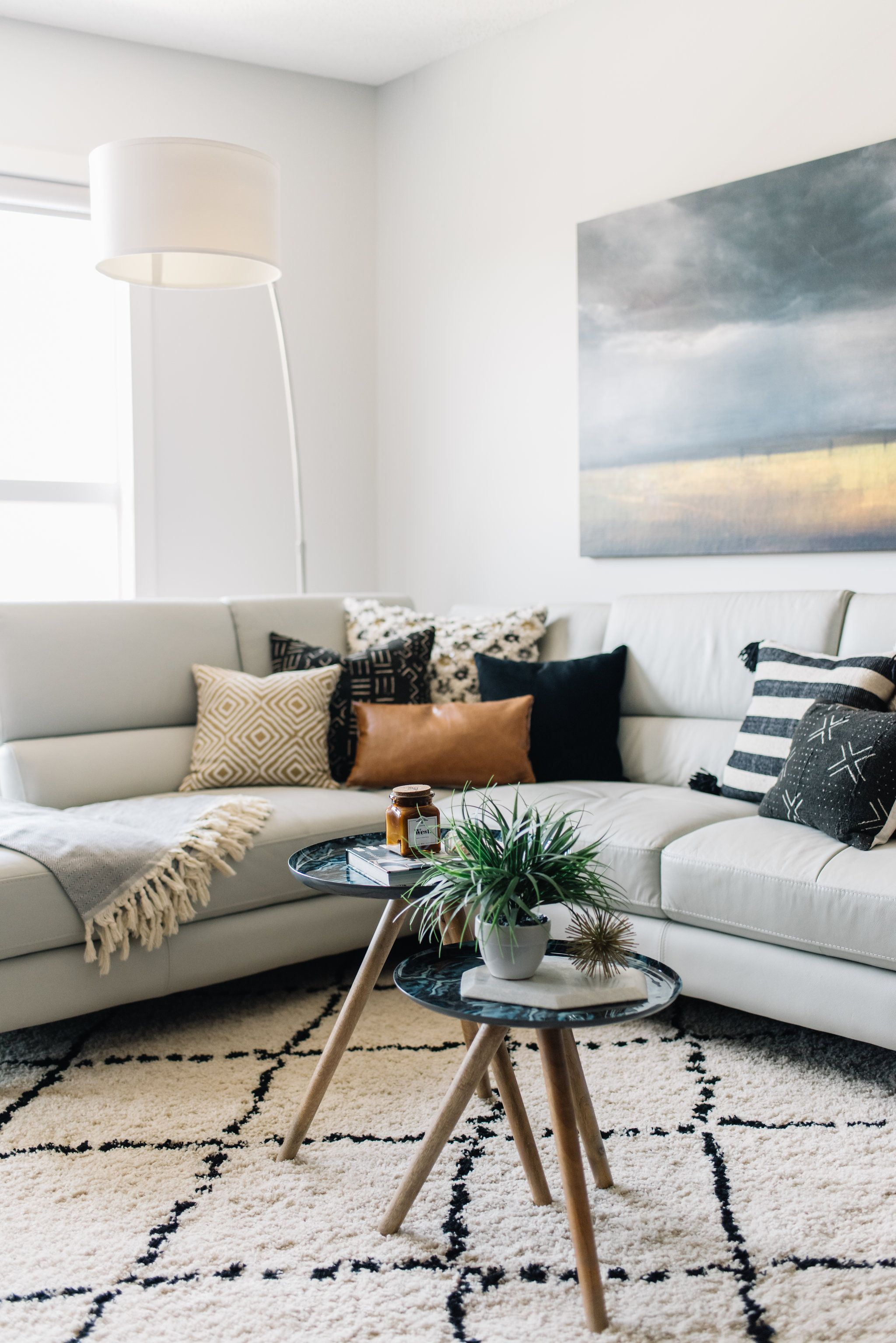 Eclectic Neutral Living Room Living Spaces, Living Room Designs, Interior  Design, Craft,