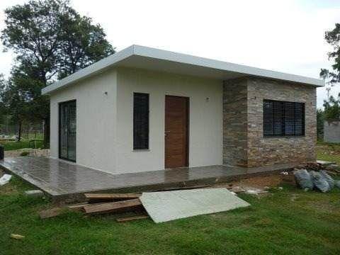 Isopanel construccion de casas habitaciones sobre for Casa minimalista uy