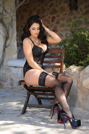 Google Charlotte Springer Hot Lingerie Belle Lingerie Stockings Lingerie Black Stockings