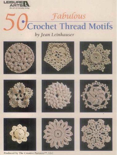Picture of 50 Fabulous Crochet Thread Motifs