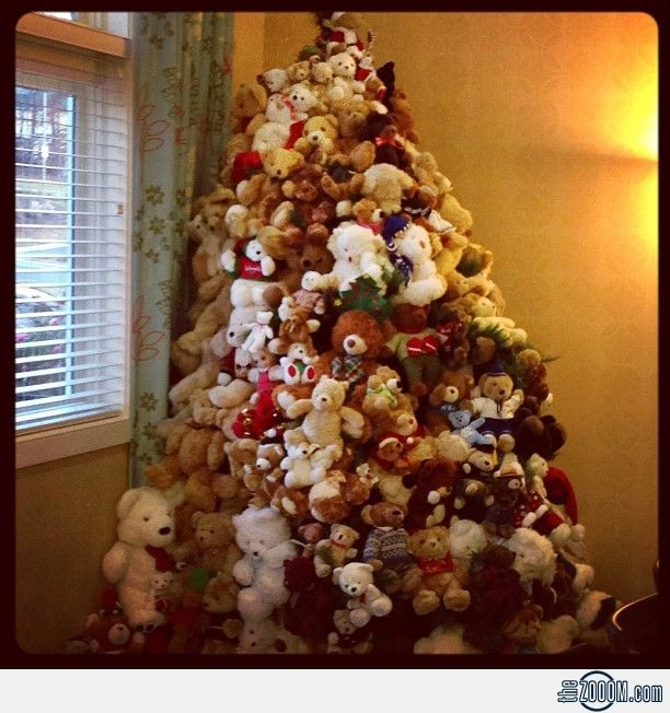 Teddy Bear Christmas Tree | Teddy Bears and Bunnies | Pinterest ...