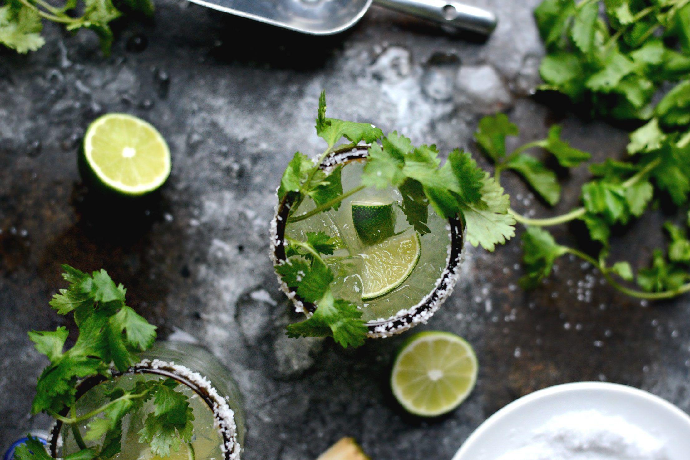 Cilantro Lime Margaritas #limemargarita Cilantro Lime Margaritas #limemargarita