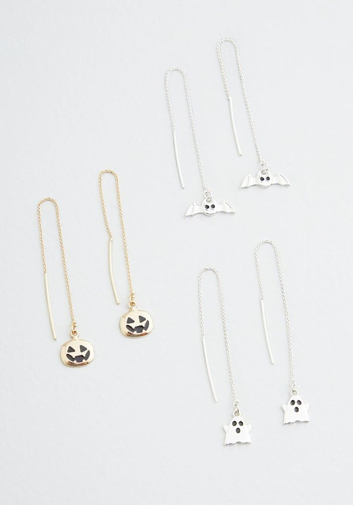 Spooky Season Threader Earring Set