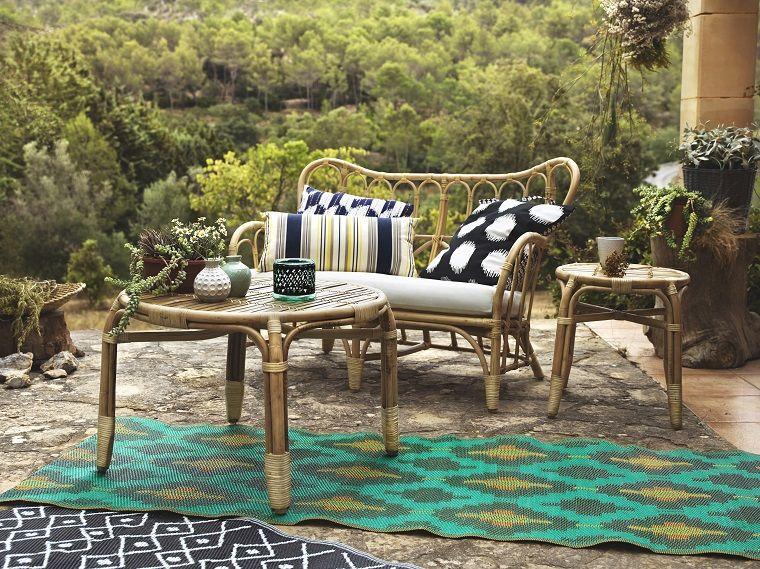 terrazas modernas-alfombras-exterior Casas Pinterest