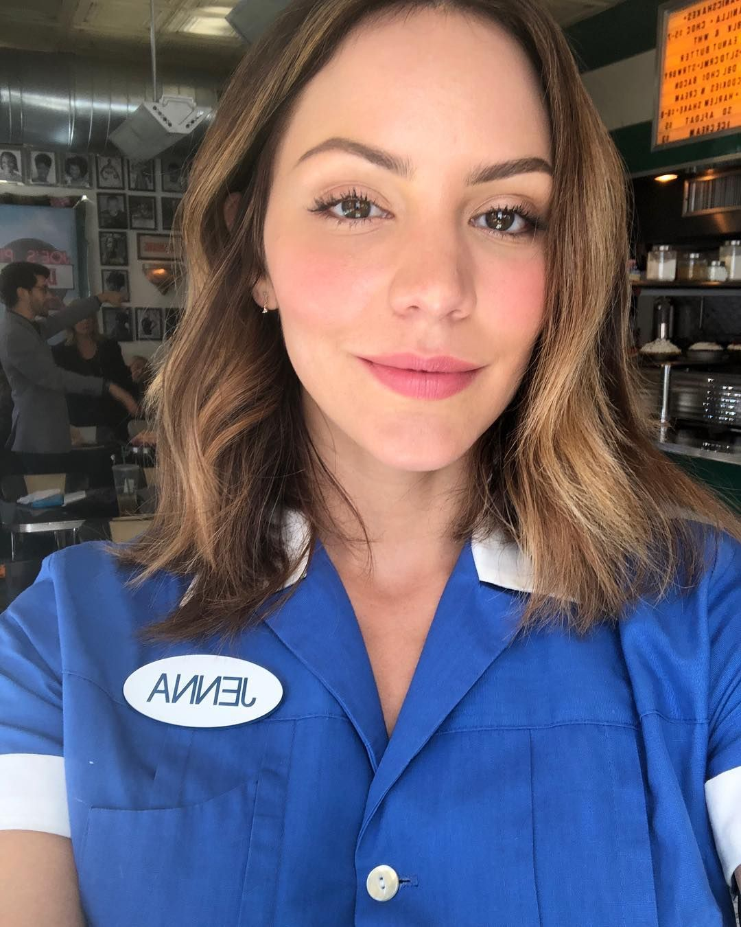 Pin By Caitlyn Freeman On A Dream Is A Soft Place To Land Waitress Katharine Mcphee Waitress Musical