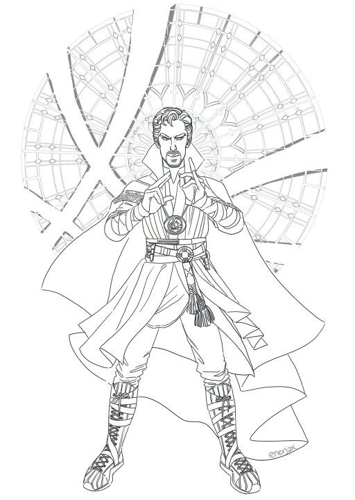 Doctor Strange Infinty War Coloring Page Google Search Marvel Coloring Marvel Drawings Marvel Art Drawings
