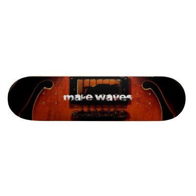 Make Waves Total Distortion Skateboard