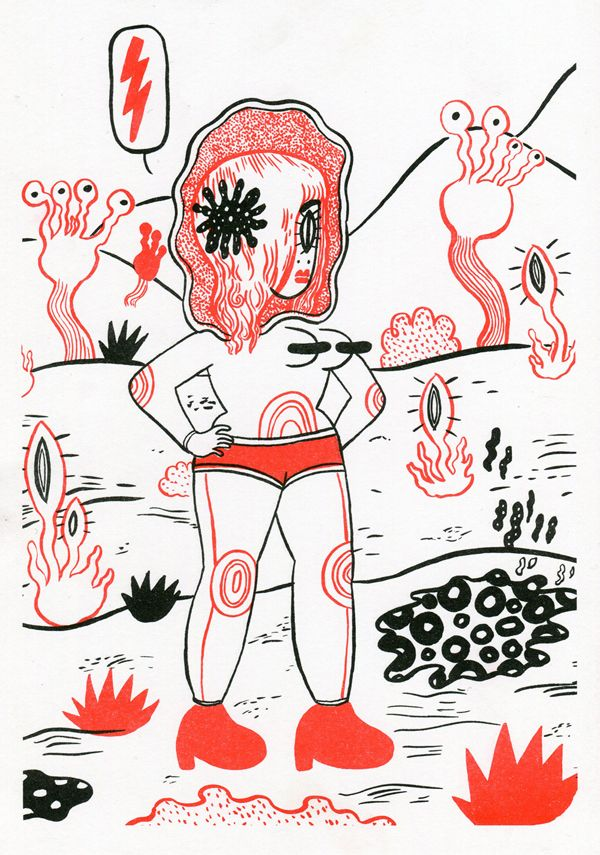 Prints - Bimba girl comics