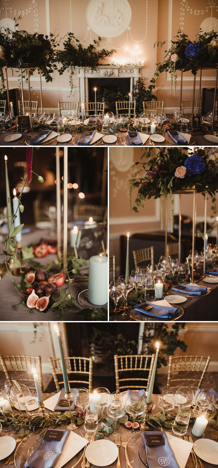Nontraditional irish wedding at mount juliet estate with a gothic