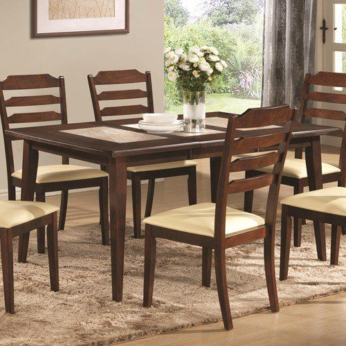 Coaster Home Furnishings Dining Table, Walnut
