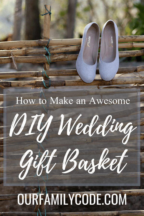532f2416fbe12 How to Make an Awesome (  Easy) Wedding Gift Basket for the Bride and  Groom.  weddings  giftsforbrideandgroom  DIYwedding  DIYgiftbasket