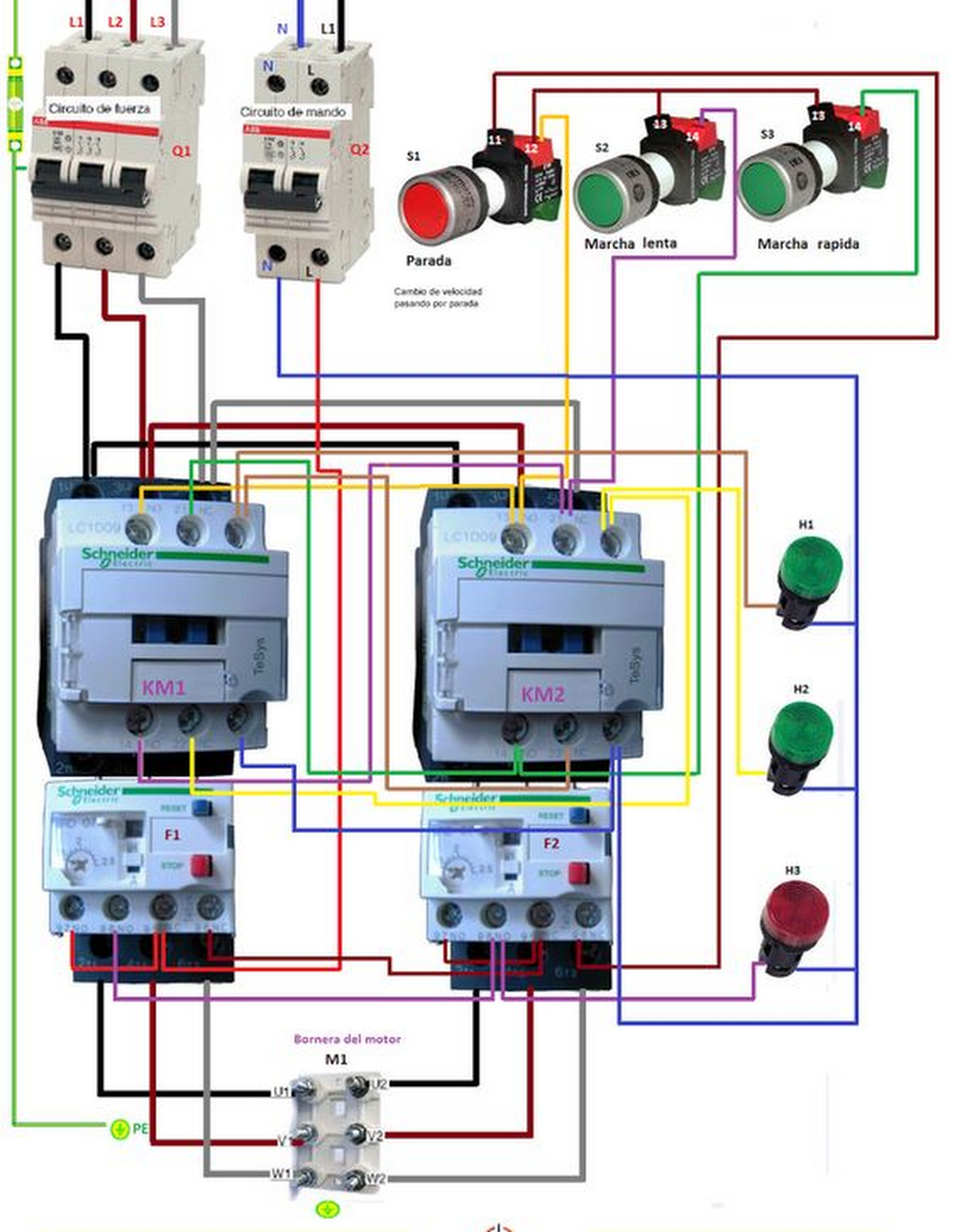 Motor Winding Connection | Electrical Engineering World | solar ...