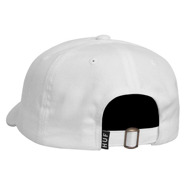 7f0807ca2da HUF x FELIX Cap Skate Curve Brim White (2)