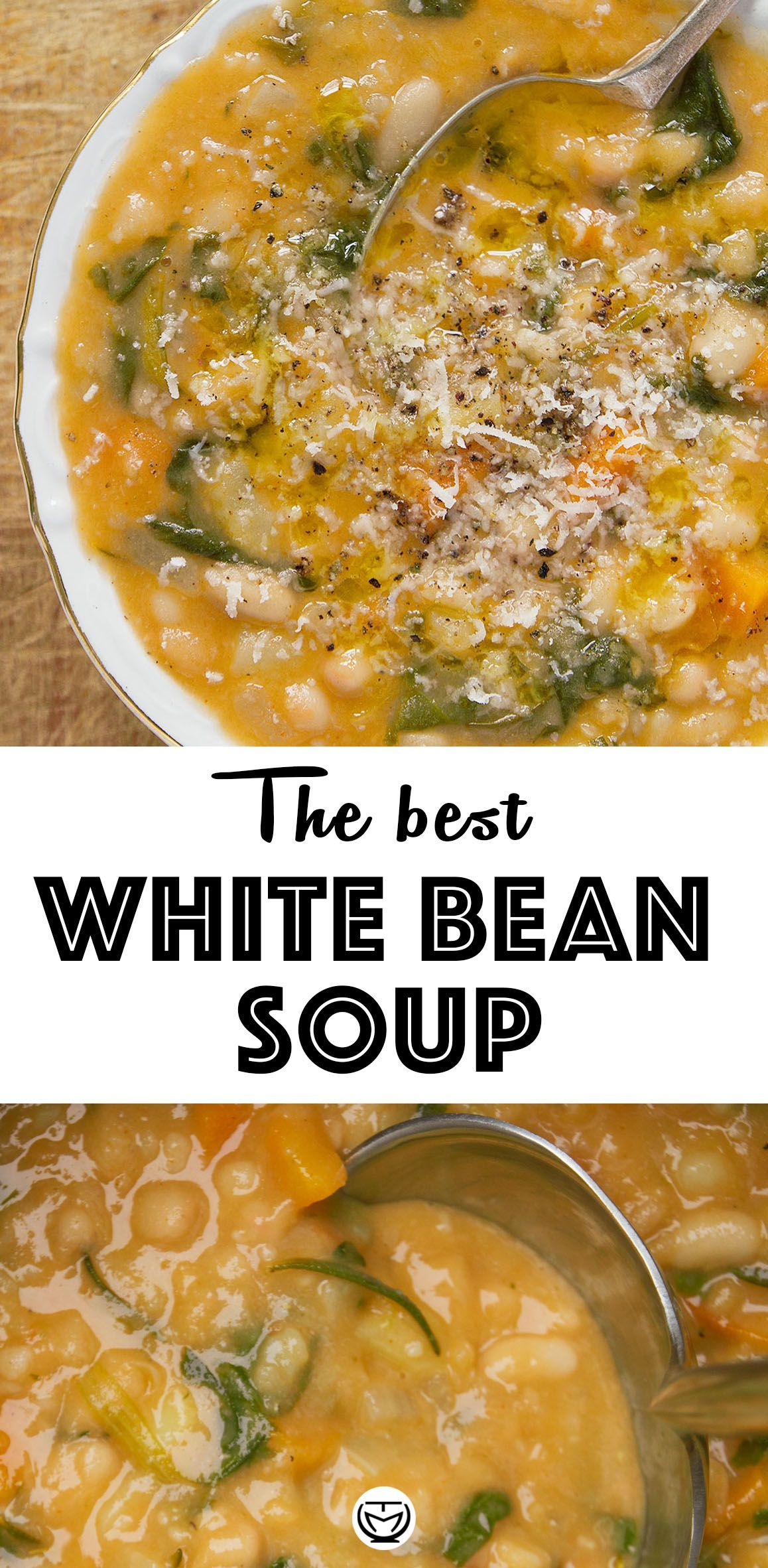 Photo of #Bean #Healthy Recipes Vegetarian #Soup #White Make it right and this white bean…
