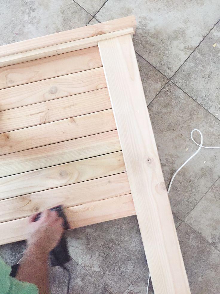 DIY Farmhouse Headboard - Kara Layne