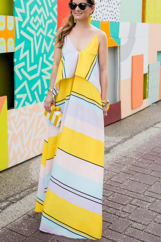 Yellow Stripe Maxi Dress Maxi Dress Striped Maxi Striped Maxi Dresses [ 1500 x 1000 Pixel ]