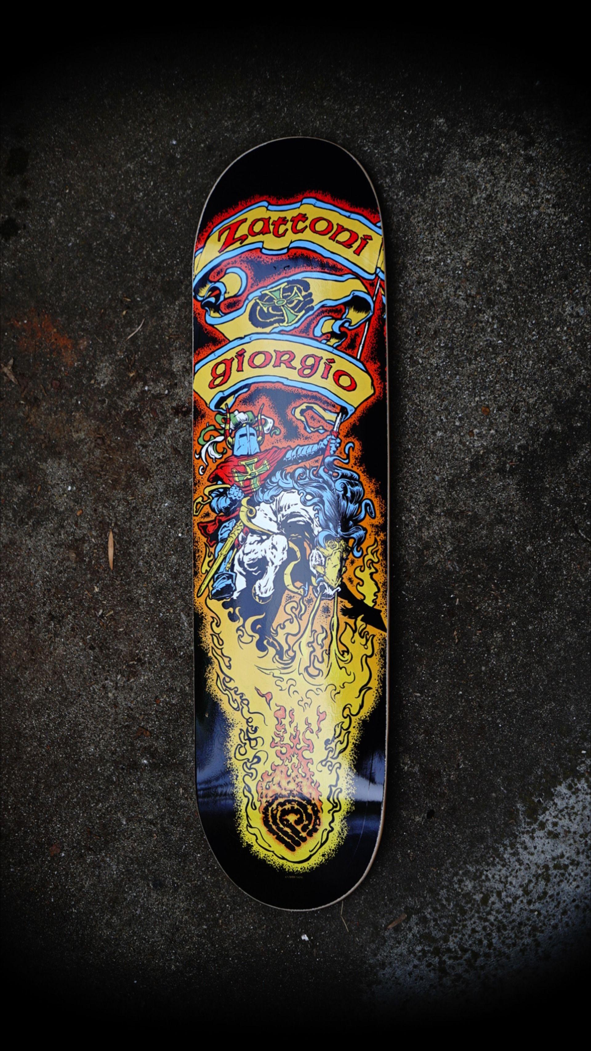 Powell Peralta Giorgio Zattoni Crusader Skateboard In 2020 Powell Peralta Skateboard Companies Skateboard