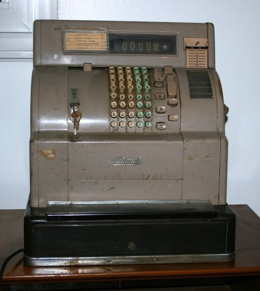 Bien connu Antique-Working-Brass-National-Cash-Register-NCR-Candy-Store  WD53