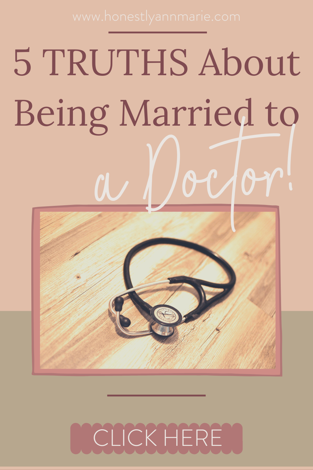 Think you want to be married to a doctor, too? Being married to a doctor comes with some perks, and also some interesting realizations about this particular