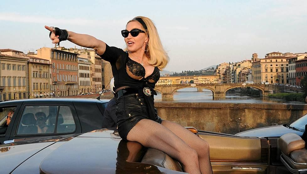 Madonna, 53 years young and a rock-hard physique!