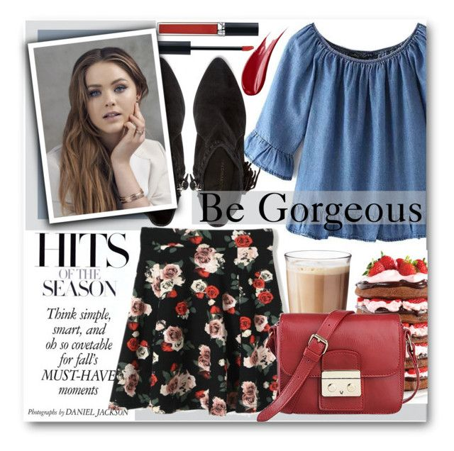"""""""Be Gorgeous"""" by stylemoi-offical ❤ liked on Polyvore featuring Wilton, Rosendahl, Christian Dior, Rebecca Minkoff, Hourglass Cosmetics and stylemoi"""