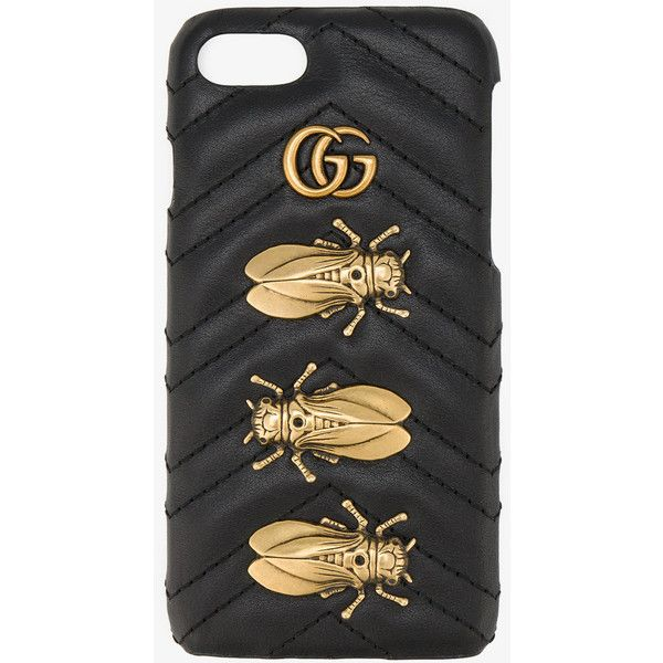 782ab845a Gucci Animal Studs Iphone 6/7 Case (1,325 SAR) ❤ liked on Polyvore  featuring accessories, tech accessories, black and gucci