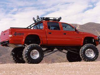 lifted dodge dakota truck   Off road parts, lift kits, wheels, tires