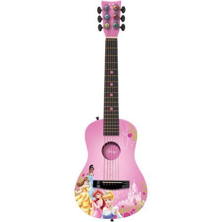 First Act Disney Princess 30 Acoustic Guitar Walmart Com In 2021 Guitar Acoustic Guitar Pink Guitar