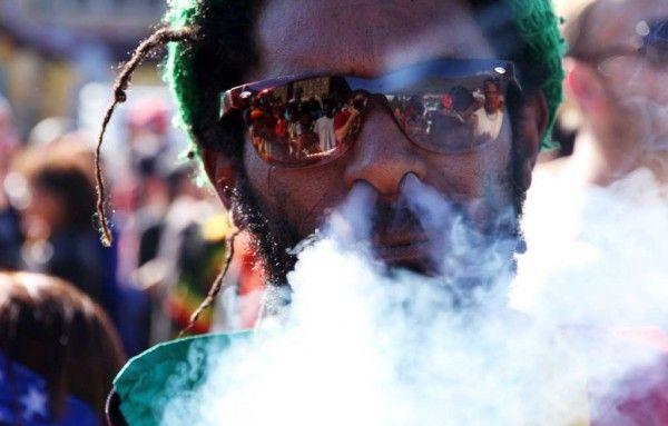 Why does rastas smoke weed