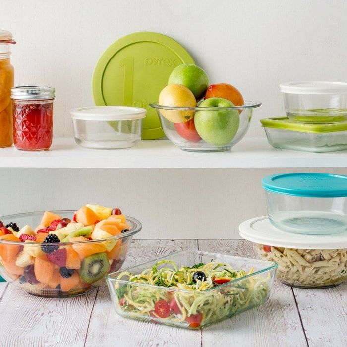 Pyrex 8 Piece Glass Storage Bowls Just $14.99! Down From $40!