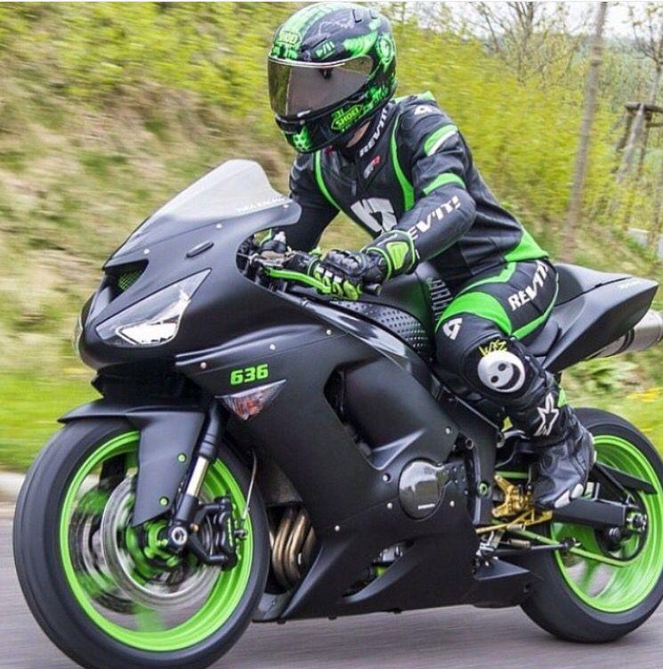 best value save off the sale of shoes Noir et vert   Cars and motorcycles   Motos honda, Moto ...