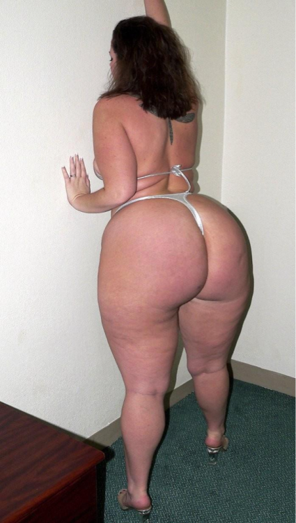 Bbw white fat ass