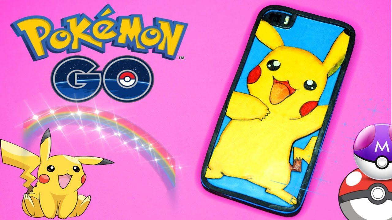72f265941f0 Funda Pikachu DIY - Pokemon GO - Funda para móvil o celular | fundas ...