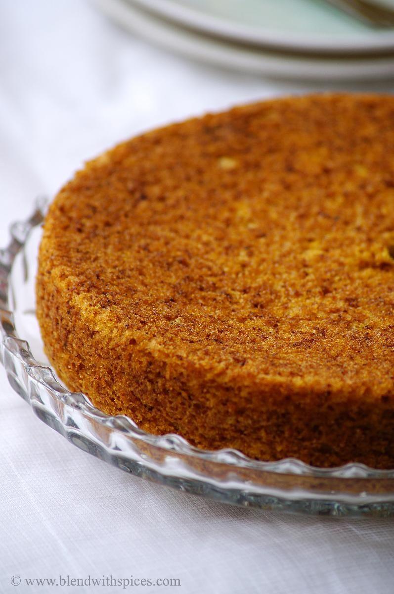 Vegan Mango Cake Recipe ~ Eggless Mango Cake Recipe ~ Step by Step Pictures   Indian Cuisine