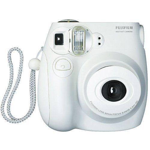 Amazon Com Fujifilm Instax Mini 7s White Instant Film Camera