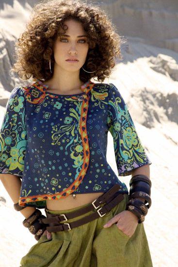 Starlight Jacquard Floral Jacket By Ivko Knits