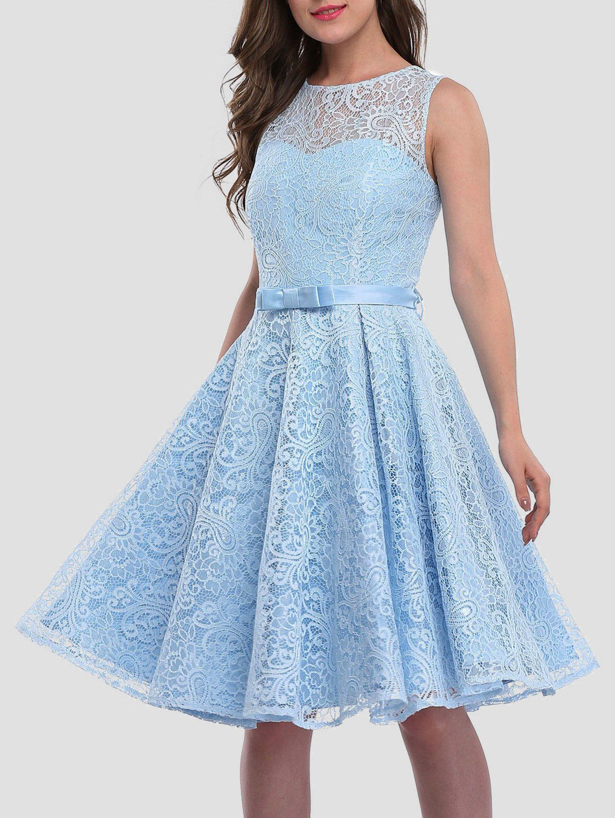 Lace Skater Cocktail Homecoming Formal Dress | Homecoming, Prom ...