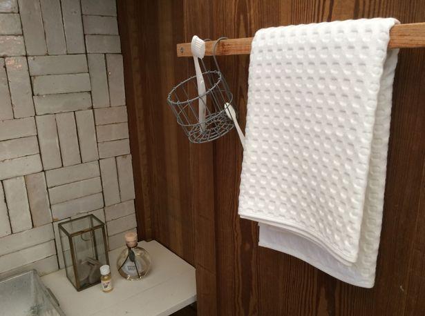 Afbeeldingsresultaat voor handdoek ophangen badkamer   badkamer by ...