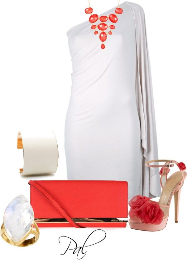 """The White Yacht Party"" by pamlcs ❤ liked on Polyvore"