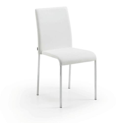 silla comedor de diseo davis blanco